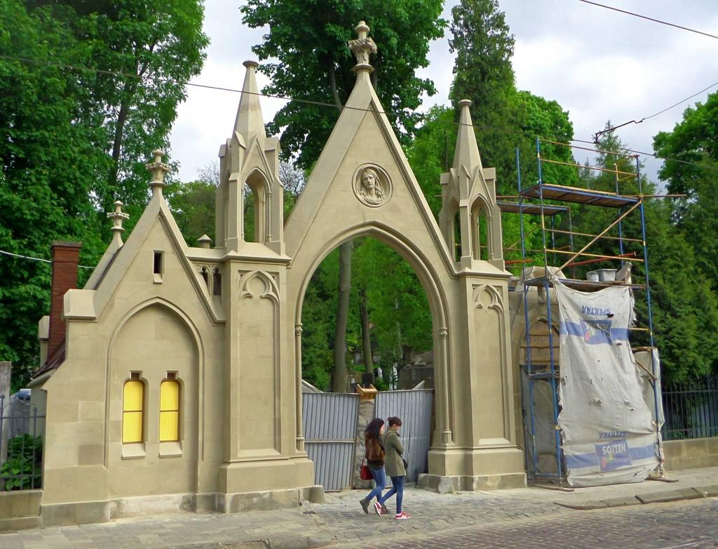 Lytjarkiv kyrkogården