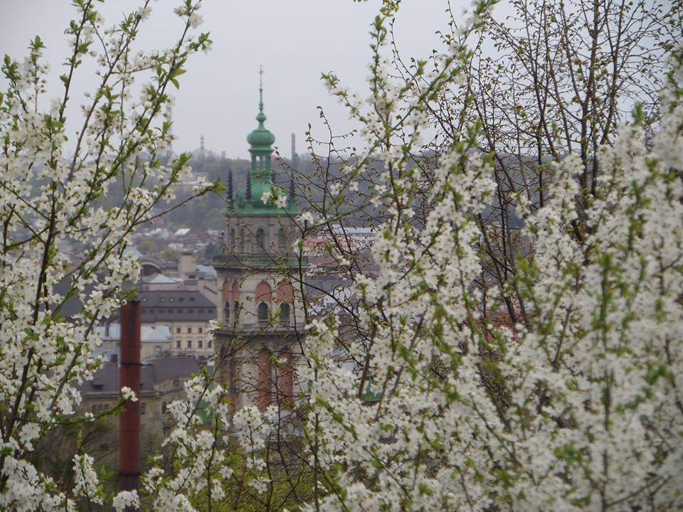 Korinttornet i Lviv