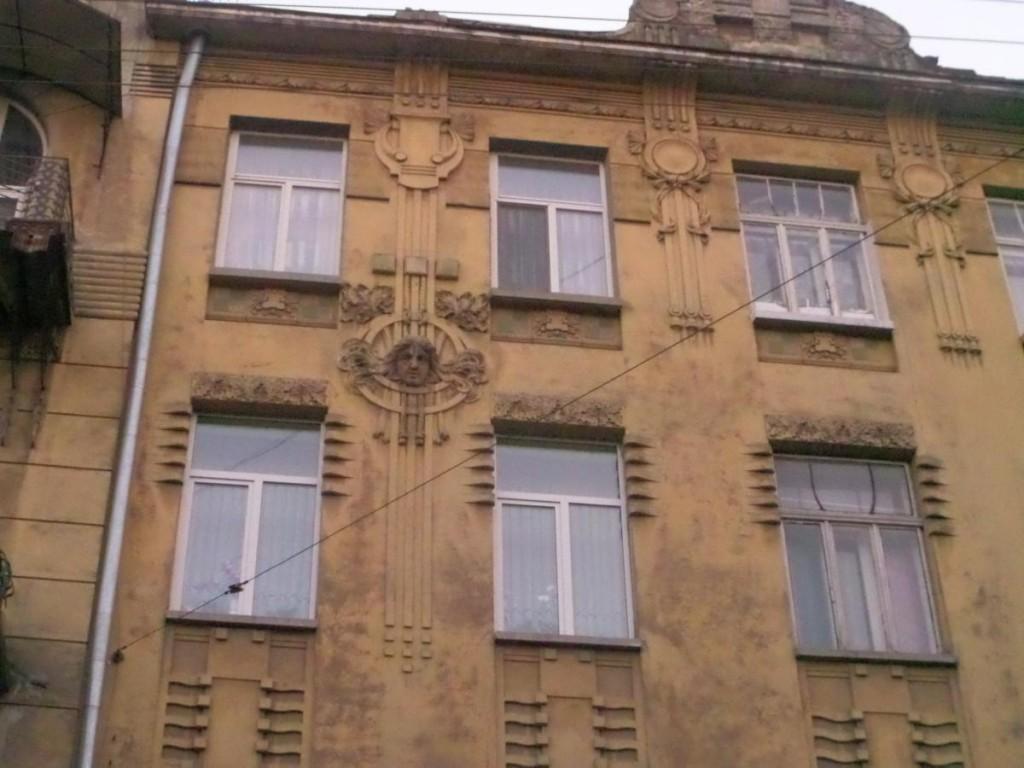 fasad med mascaron